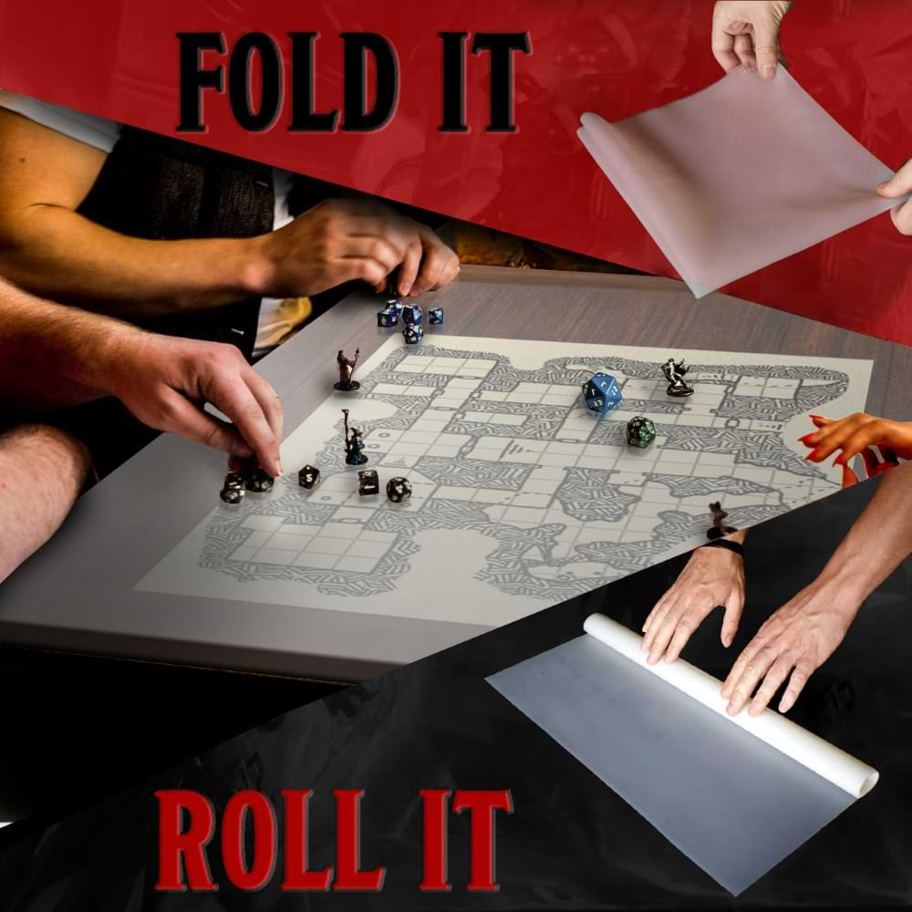 Ergon Games Frosted Tabletop RPG Mat 3